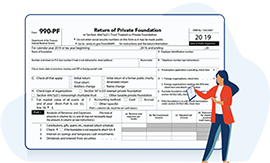 What is Form 990-PF?